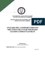 Proyecto NASTRAN Alberto Arribas Redondo