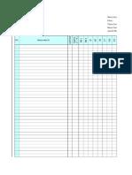 Markah Excel lama