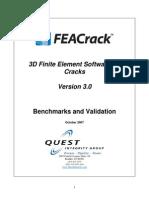 FEACrack Validation
