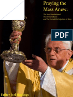 Praying the Mass Anew by Fr Joel Hastings
