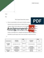 Nike Company/ Essay / Paper by AssignmentLab.com