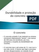 Durabilidade e proteção do concreto armado