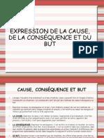 Presentación pdf Cause-Conséquence-But (B1-B2)