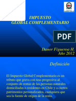 IMPUESTO GLOBAL COMPLEMENTARIO (AÑO 2013 al 13.11.2013)