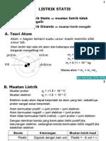 Listrik Statis SMP/MTs Kls IX