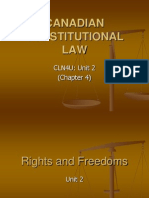 chapter 4  canadian constitutional law intro