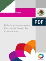 Guia Ecotecnias SEDESOL