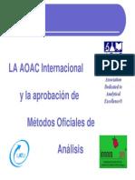La AOAC - Brix - MarinaTorres