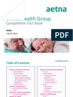 unitedhealth group competitive fact book