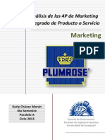 PLUMROSE - Trabajo de Investigacion Marketing