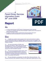 26-06-09 Event Report + Invite