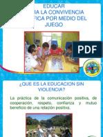 Base para Integración familiar, educar sin violencia, como poner reglas y limites