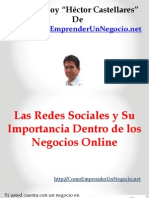 Las Redes Sociales y Su Importancia Dentro de Los Negocios Online