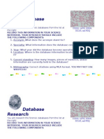 national database projects