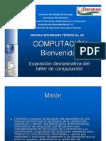 ¡¡Dá la Bienvenida a la asignatura de Computación en Powerpoint (alumnos de nuevo ingreso)