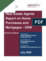 Real Estate Agent Survey June 2009