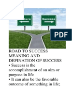 Sure Road to Success
