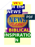 VK's IN the NEWS UPDATE & BIBLICAL INSPIRATION  8/5/13   to 11/14/13