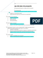 lista cotejo plan proyecto