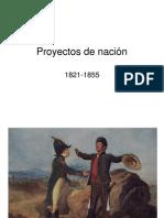 3.2 Proyectos de nación