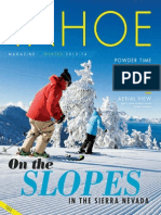 Tahoe Magazine — 2014 Winter edition South
