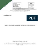 A18 FLIGHT PLAN PROC A01 04