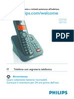 Istruzioni Cordless Philips CD155