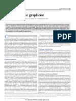 2012 a Roadmap for Graphene