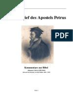 J Calvin - 1 Petrusbrief