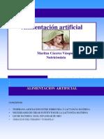 ALIMENTACION ARTIFICIAL y alim no láctea 2012