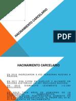 HACINAMIENTO CARCELARIO