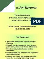 Mobile App - Victor Chakravarty