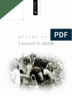 George Sovu - Liceenii in Alerta [v. 1.0]