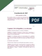 Constitucion de 1865