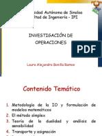 1. Definicion Desarrollo y Tipos de Modelos de IO