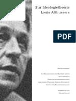 Schupp, Oliver - Zur Ideologietheorie Louis Althussers