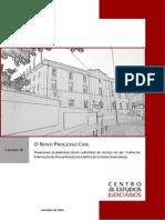 Caderno III Novo Processo Civil CEJ