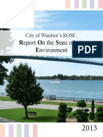 City of Windsor's Report On the State of our Environment 2013