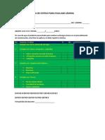 lista de cotejo para evaluar lmina