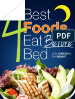 4 Best Foods Before Bed