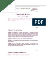 Constitucion de 1894
