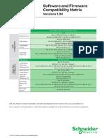 Andover Continuum Software Compatibility Matrix Versions 1.94