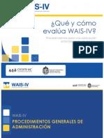 2. Qué y cómo evalúa el WAIS-IV