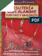 Bisutería con alambre, cuentas y abalorios - JPR504