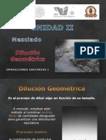 Dilucion Geometrica