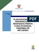 Plan de la  Influenza en el Perú