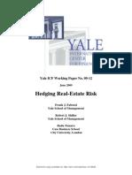 Hedging Real-Estate Risk