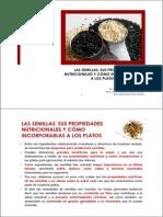 Semillas y Sus Propiedades Nutricionales.