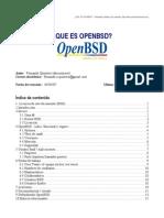 Que Es Openbsd (PDF)