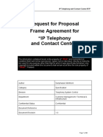 RFP - IP Telephony & Contact Center v1